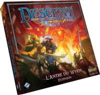 DESCENT 2EDT EXT L'ANTRE DU WYRM 2/5J 14+ 2-3H