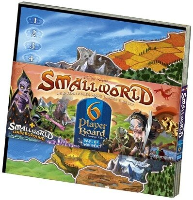 SMALL WORLD EXT.6 JOUEURS