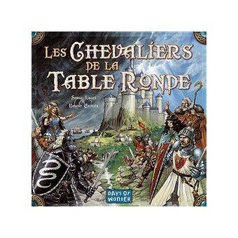 CHEVALIERS DE LA TABLE RONDE LE JEU 7421